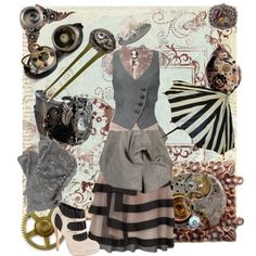 Parasol Protectorate/Steampunk outfit. What do you think? @Amy Lyons Lyons Johnson