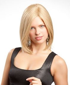 Blond wigs are great for light skin types. I envy blond!