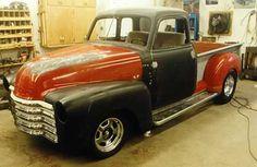 49 Chevy Pickup.