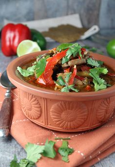 Warm yourself up for the fall season with a delicious Southwestern Pork Stew! Shared via http://www.ruled.me/