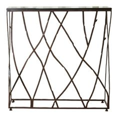 I pinned this Global Views Branch Console Table from the Marcelle Guilbeau event at Joss and Main!