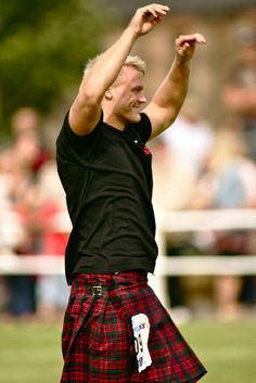 highland games kilt