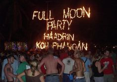 moon party Thailand -