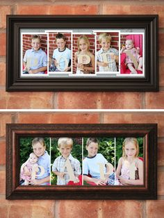 DIY Father's Day Photo Frame Gift