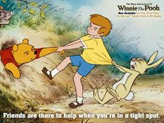 pooh many adventures ending a relationship