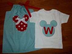 Brother/ Sister Disney outfits