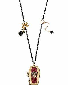 Halloween necklace Betsey Johnson
