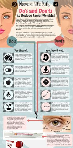 Do' s and Don't s to reduce Facial Wrinkles