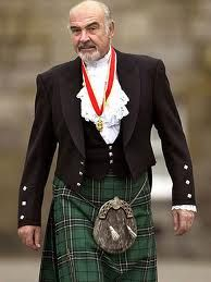 Sean Connery in a Kilt.  I love men in kilt !