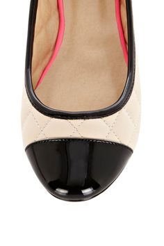 Quilted Ballerina Shoe