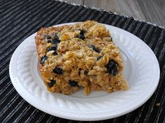 Baked Oatmeal with Raisins