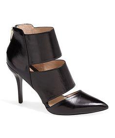 Loving this Black Elena Leather Pump on #zulily! #zulilyfinds
