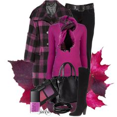 Fall in Plaid, created by jackie22 on Polyvore