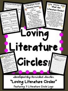 Setting up literature circles is so much fun.  This unit will help you set the foundation and groundwork for facilitating literature circles in you...
