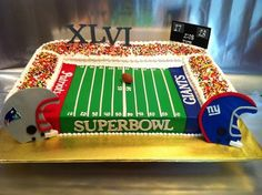 Superbowl Stadium Cake