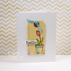 adorable cards using Claudine Hellmuth Stamps by Julie Ebersole