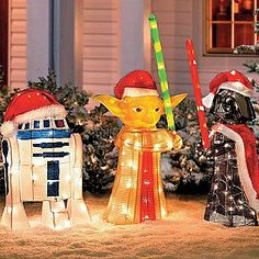 Saw these at Home Depot!! Star Wars Christmas Decorations | Star Wars™ Holiday Decor | Christmas