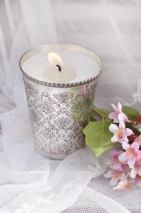 Becher mit Kerze von Hübsch