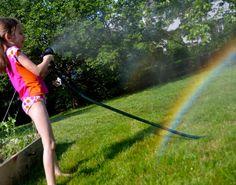 make a rainbow