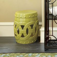 Garden Seat with Rings    Ballard Designs
