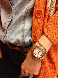 Bradshaw watch & bangles #stackedwrist #nordstrom