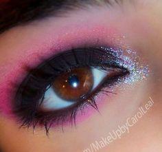 Holographic Black+Pink! by Carol L.