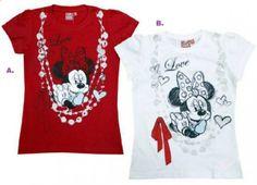 Noutati Disney de la Prickindel - http://www.outlet-copii.com/outlet-copii/imbracaminte-copii/noutati-disney-de-la-prickindel/ - Mi-au atras atentia cateva tricouri deosebite cu personajele Disney Mickey si Minnie Mouse din noua colectie Prickindel de anul acesta, tie care iti place? 1. Tricou Mickey-Mouse politist foarte,foarte haios pentru baiatelul tau, care varianta iti place A sau B? click aici sa vezi toate modele de tricouri Disney baietei  2. Tricou Minnie-Mouse fas