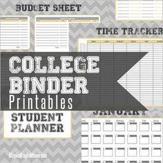 Printables to keep you organized