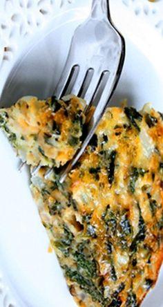 Crustless Spinach Quiche | gimmesomeoven.com