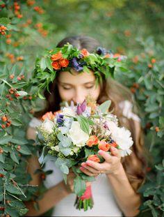 #bouquetPhotography: Max Koliberdin - maxkoliberdin.comRead More: http://stylemepretty.com/2013/08/06/russia-wedding-from-max-koliberdin/