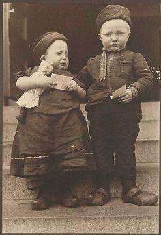 [Dutch children.] by New York Public Library, via Flickr