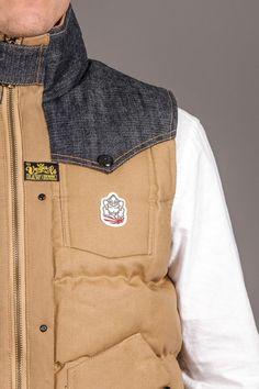 Marquee Vega Japanese Selvedge Denim Vest