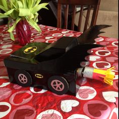 Batmobile Valentine box