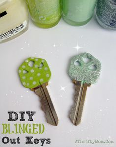 DIY blinged out keys