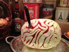 Watermelon brain...  Ewwwww