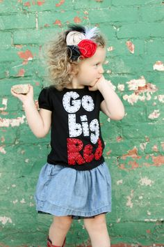 Nebraska Husker, Go Big Red, football shirt, oneise, Nebraska. $17.99, via Etsy.