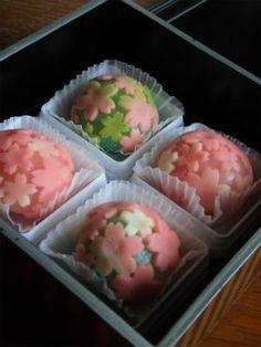 Spring Sakura Nerikiri, Japanese Wagashi Cake|練りきり「春の山」