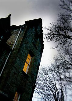 Tulloch Castle Hotel, Scotland A guest in Room Eight of this 12th century hotel in Dingwall claimed he woke up during the night, unable to breath, and felt as if he were being choked. The room reportedly felt ice cold and apparently the ghosts of two girls were sitting on his chest in an attempt to suffocate him.