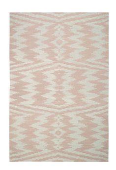Uzbek rug by Genevieve Gorder in Blush