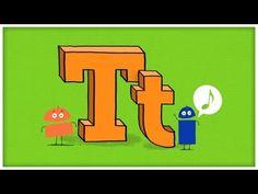 Storybots- Letter T