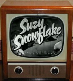Suzy Snowflake was another holiday classic that appeared on WGN as the Christmas season neared.
