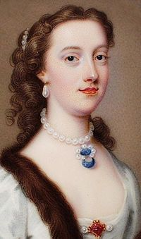 Margaret Cavendish, Duchess of Newcastle. (1623 – 1673) was an English aristocrat, a prolific writer, and a scientist, the first to join the Royal Society
