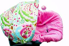 Infant Car Seat Cover Baby Car Seat Cover in Kumari by ChubbyBaby, $65.00
