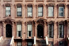 architectur, fort green, nyc, new york city, green brownston