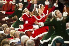 The Mormon Tabernacle Choir performs its Christmas concert at LDS Conference Center in Salt Lake City on Thursday, Dec. 13, 2012. (Chris Detrick     The Salt Lake Tribune)