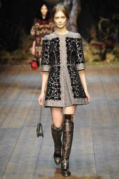 Dolce & Gabbana | Fall 2014 Ready-to-Wear Collection | Style.com milan, fashion weeks, winter, autumn, dress, dolc, fall 2014, gabbana fall, photo galleries