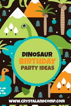 themed birthday parties, dinosaur theme birthday, dinosaur birthday, diy dinosaur, parti idea