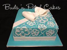 petal cake, beauti cake, tiffany blue cakes, decor websit, cake decor, tiffani blue, floral tiffani, blues