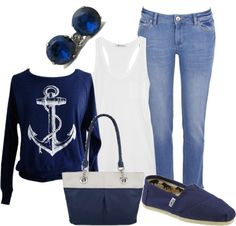 """Nautical"" by brianaa-x on Polyvore"