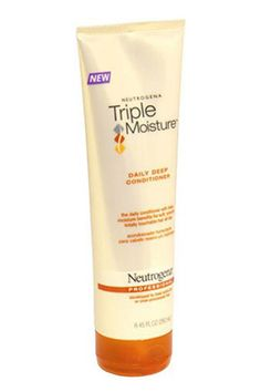 Top Rated Drugstore Conditioner: Neutrogena Triple Moisture Daily Deep Conditioner